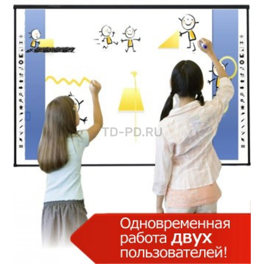 Интерактивная доска Classic Solution Dual Touch V83