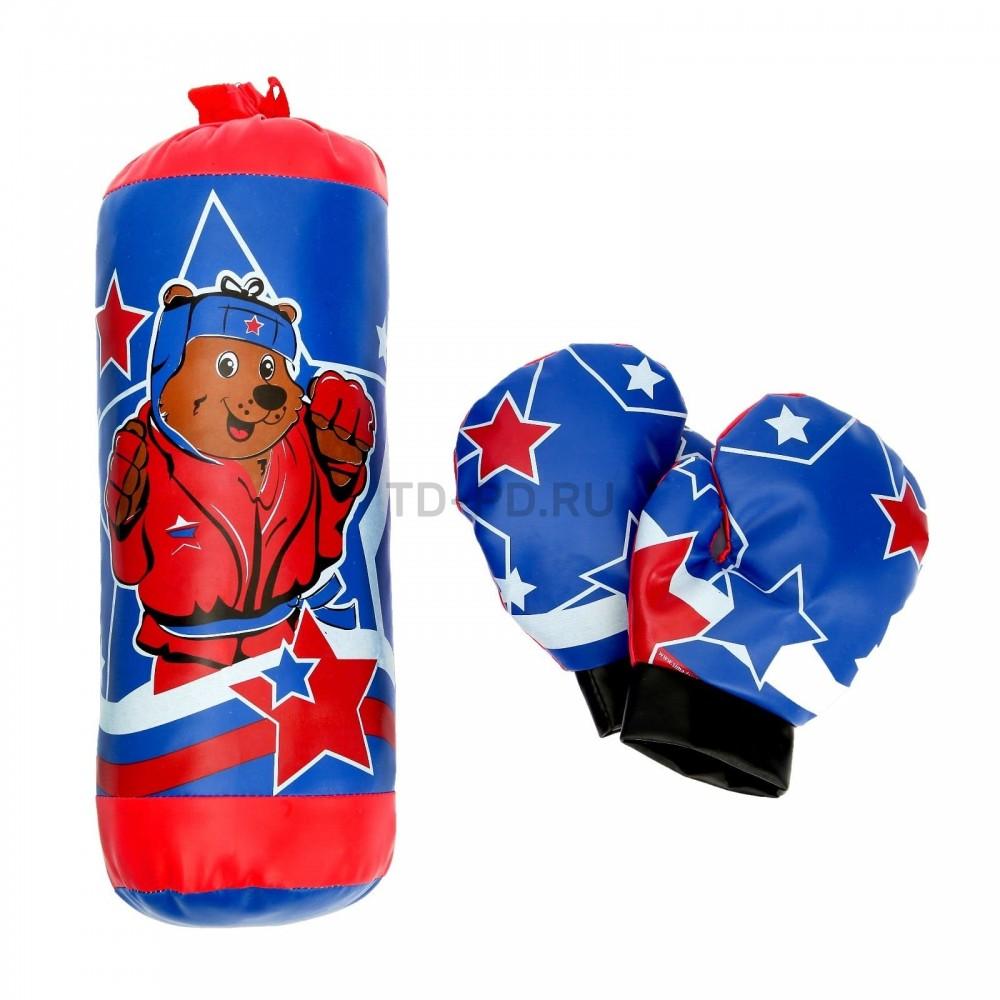 Игровой набор для бокса «Мишка»