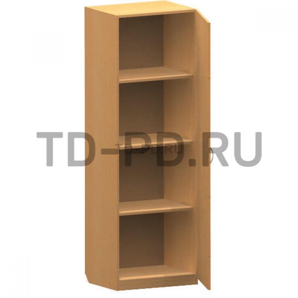 Шкаф 1-ств. с полками
