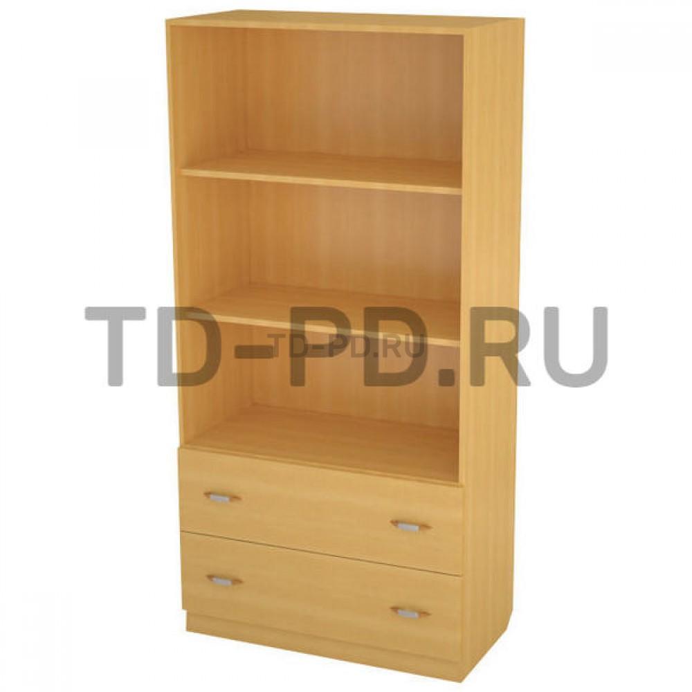 Шкаф полуоткрытый с 2-мя ящиками
