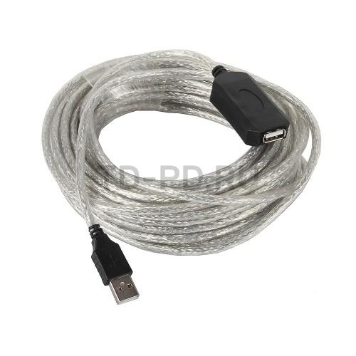 Активный USB удлинитель VCOM 10 м