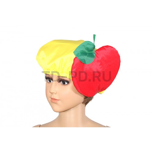 """Шапка к костюму """"Яблоко красное"""""""