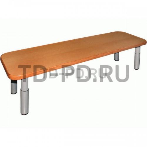 Скамейка регулируемая на метал. карк. L=95