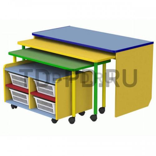 Многофункциональный модуль для развивающей деятельности с набором корзин