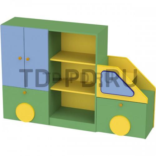 Стенка детская «Машина» с ящиками