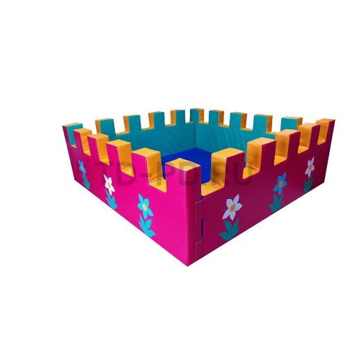 Сухой бассейн «Крепость» разборный