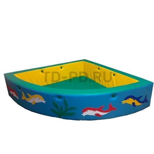 Сухой бассейн «Угловой»