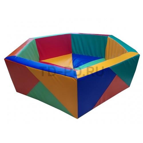 "Сухой бассейн шестигранник ""Калейдоскоп"""