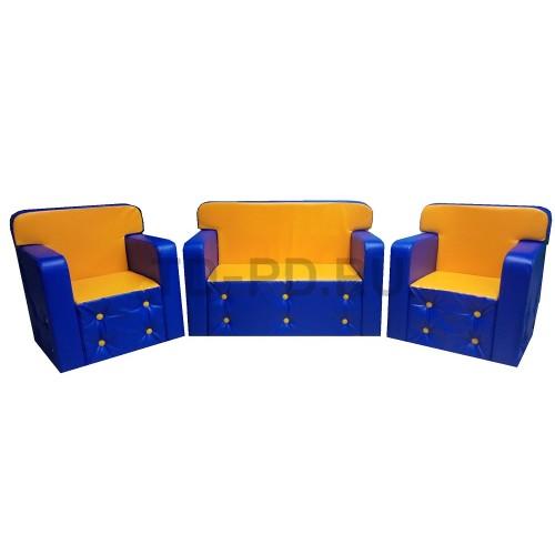 Детская игровая мебель «Комфорт» (без столика)