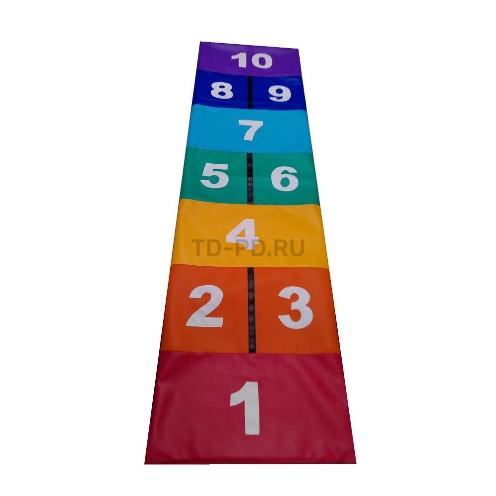 Детский игровой набор мягких модулей «Классики» (цветные)