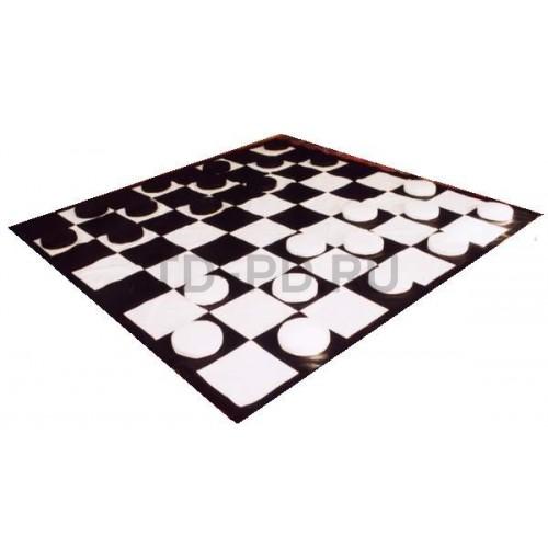 Детский игровой набор мягких модулей «Шашки»