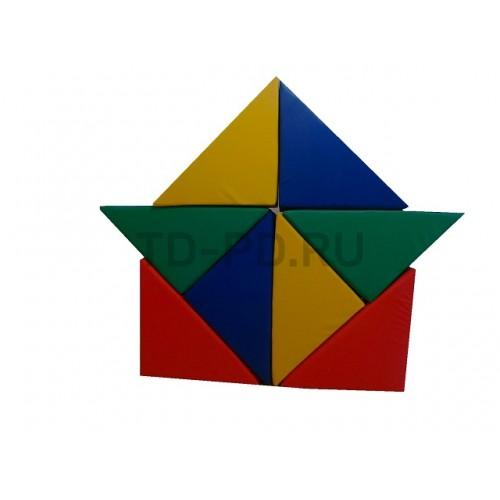 Детский игровой набор мягких модулей «Собери фигурку»