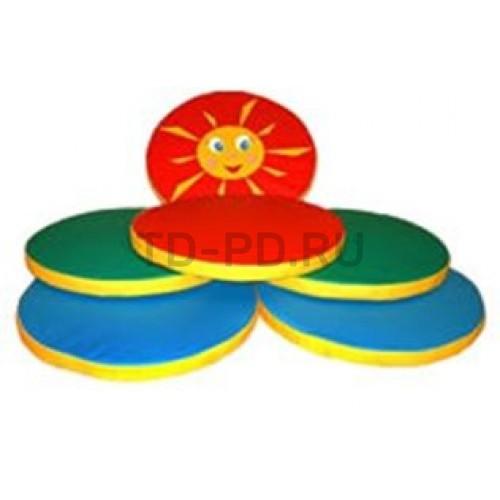 Детский игровой набор мягких модулей «Солнышко»