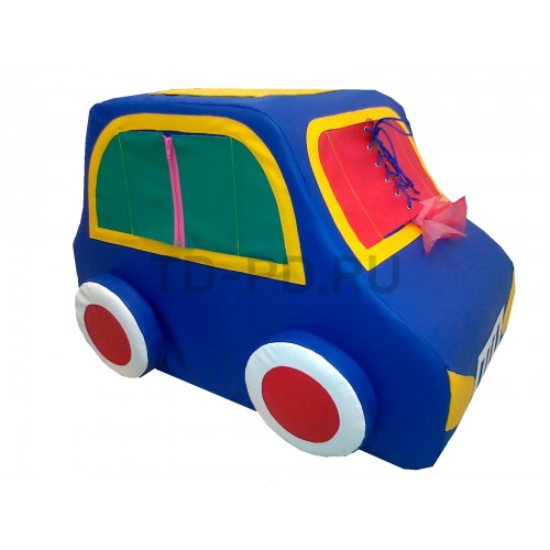 Дидактическая «Машинка» синяя