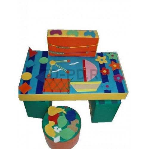 Дидактический мягкий стол «Море»