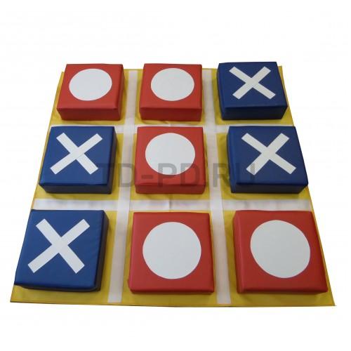 Игровой набор мягких модулей «Крестики-Нолики»