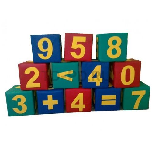 Игровой познавательный набор мягких модулей «Числа».