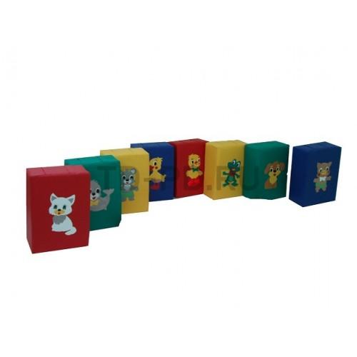Детский игровой набор мягких модулей «Игровая дорожка»