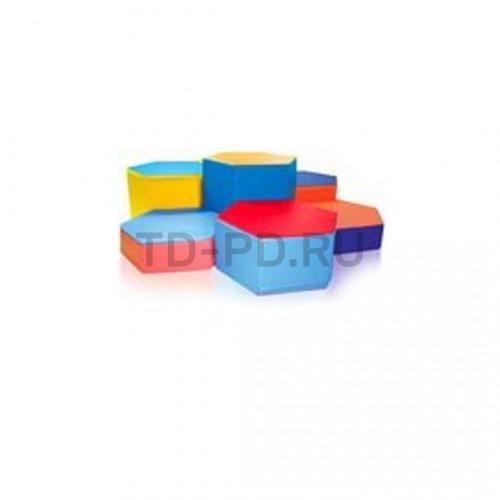 Детский игровой набор мягких модулей «Камушки»