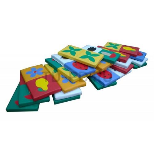 Игровой набор мягких модулей «Домино»