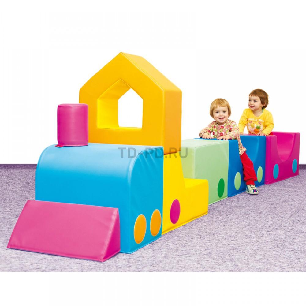 Детский игровой набор «Паровоз»