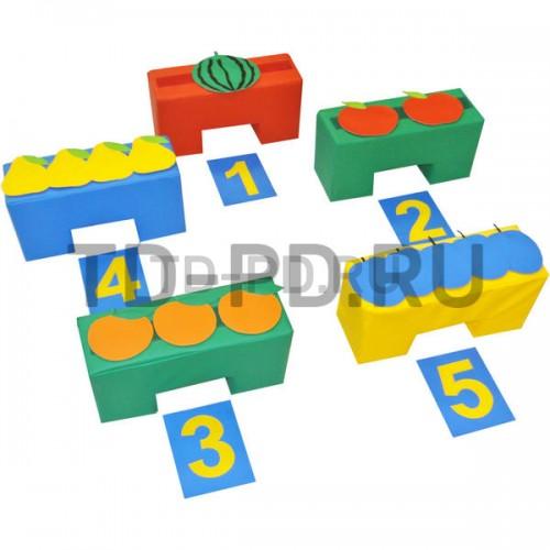 Подвижная игра «Найди свой домик: Фрукты-ягоды» с дидактической направленностью