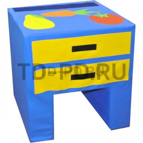 Мягкий модуль «Стол с 2-мя ящиками»