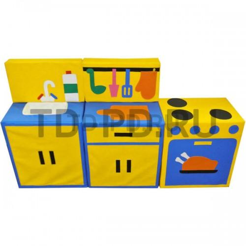 Набор мягких модулей «Кухня модульная», 5 предметов (с разделочным столом)