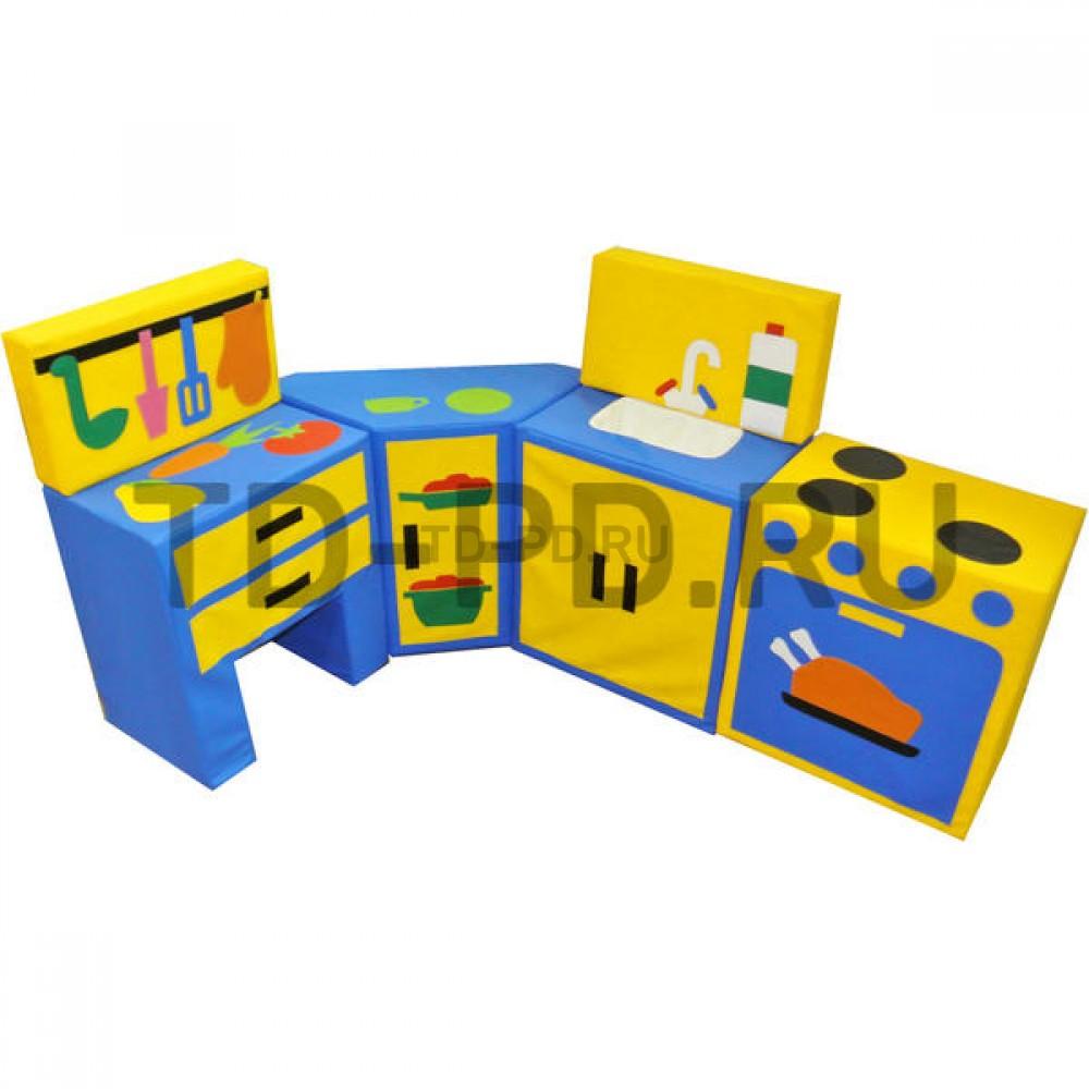 Набор мягких модулей «Кухня угловая модульная», 6 предметов