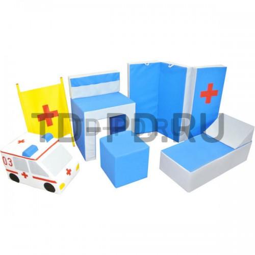 Набор мягких модулей «Больница», 8 предметов