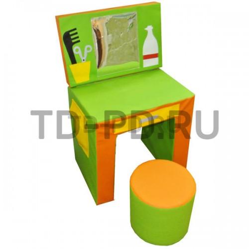 Набор мягких модулей «Парикмахерская с пуфом», 3 предмета