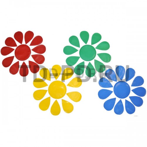 Подвижная игра «Собери цветок» с дидактической направленностью