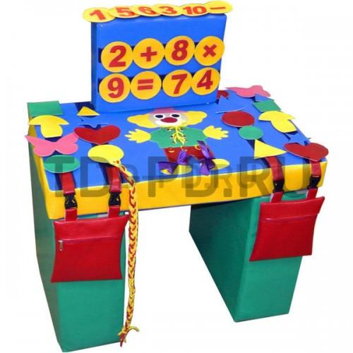 Стол дидактический игровой, мягконабивной