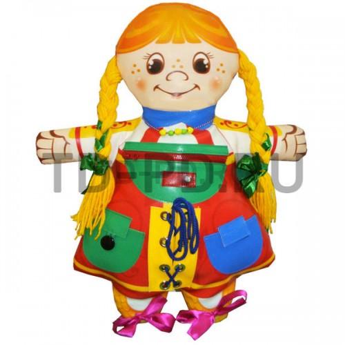 Развивающая дидактическая игрушка «Девочка»