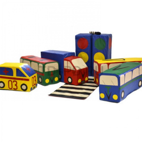 Игровой набор «Светофорчик» (маленькие машинки)