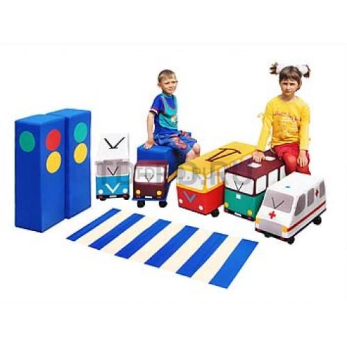 Игровой набор «Светофорчик» (машинки на колесах)