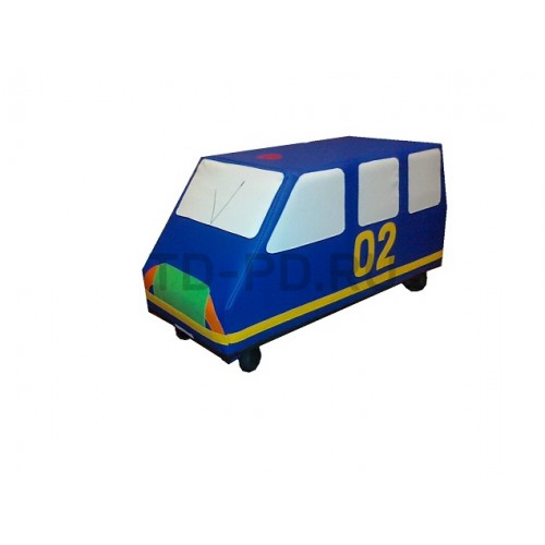 """Мягкий модуль Машина на колесах """"Полиция"""""""