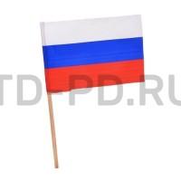 """Флажок """"Россия"""" на деревянной палочке"""