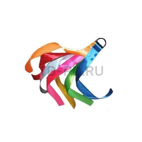 Ленты цветные на кольце 10 шт 25 см