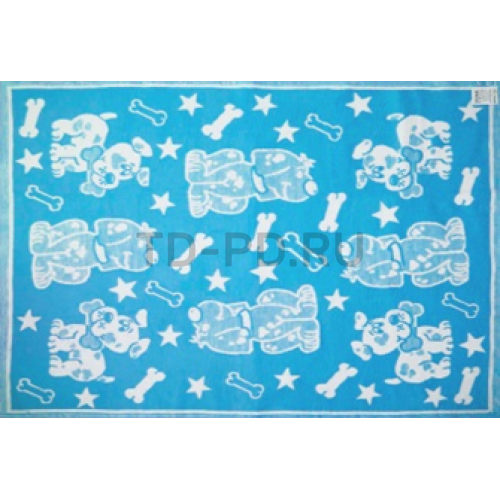 Одеяло байковое Жаккард детский рисунок 140Х100