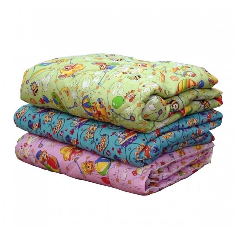 Одеяло детское шерсть Зима 140Х100 детское
