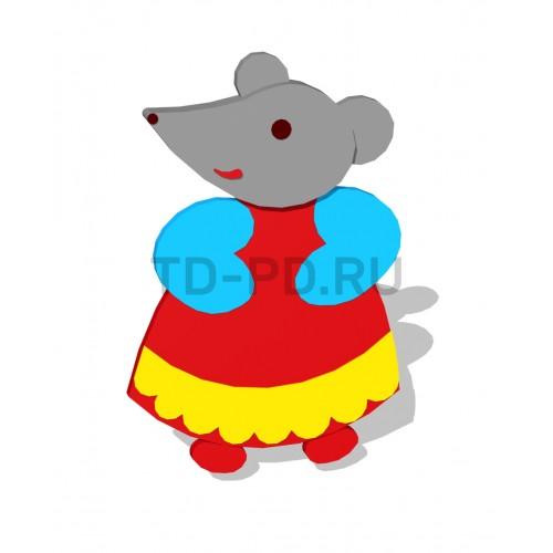 Декор уличный «Мышка»