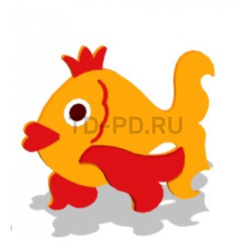 """Декор уличный """"Золотая рыбка"""""""