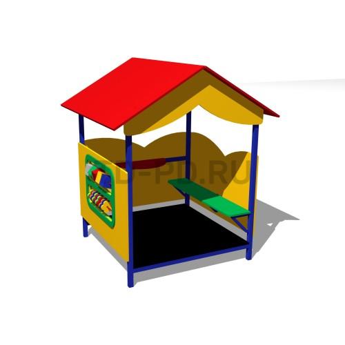 Игровой домик-«Домик-беседка-1»