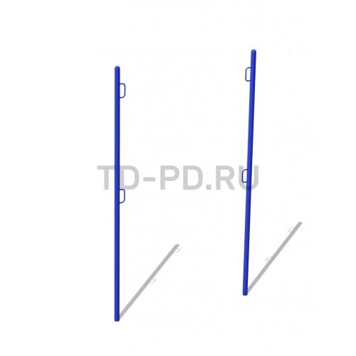 Стойки волейбольные с сеткой (комплект из 2 стоек и сетки)