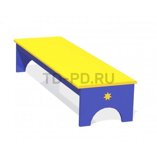 Скамейка двухсторонняя «Звезда»