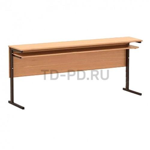 Стол 3-местный, меламин, прямоугольная труба