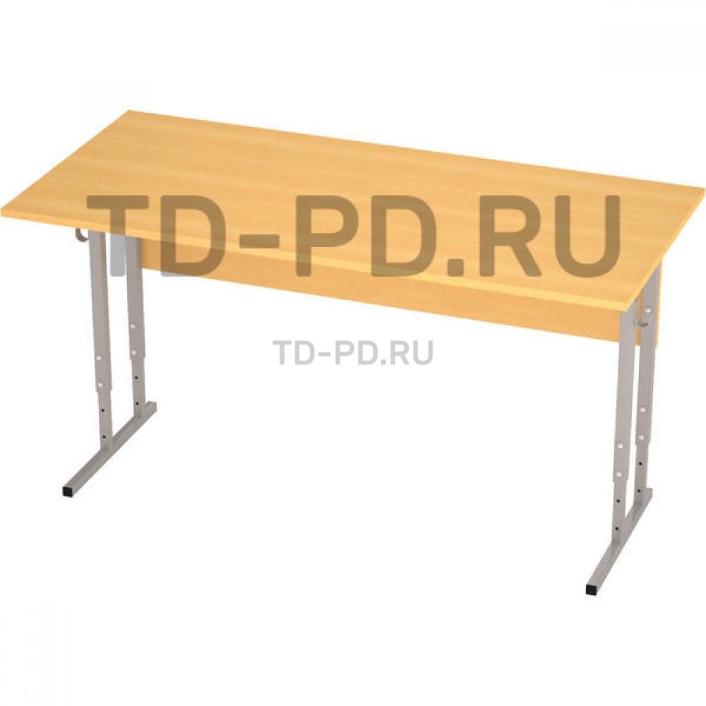 Стол ученический 2-местный регулируемый ЛДСП, 5-6-7 гр.
