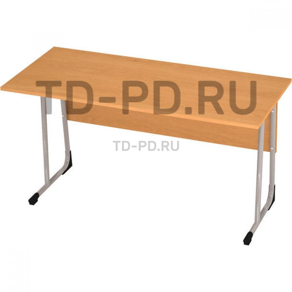 Стол ученический 2-местный ЛДСП 3 гр., круглая труба (Н=58 см)