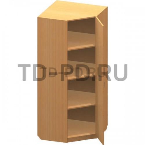 Шкаф угловой с полками
